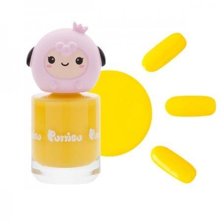 ยาทาเล็บ กลิ่นสตอเบอรี่ C03 สีเหลือง