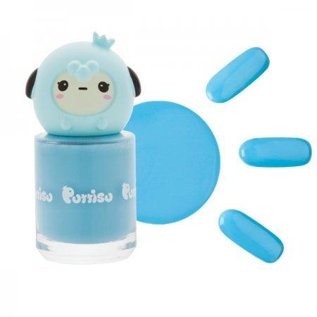 ยาทาเล็บ แบบล้างออกด้วยน้ำ W12 สีฟ้ามารีน