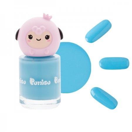 ยาทาเล็บ กลิ่นสตอเบอรี่ C07 สีฟ้าเบบี้บลู