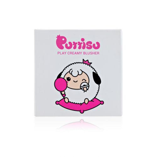 Play Creamy Blusher #01สีชมพู