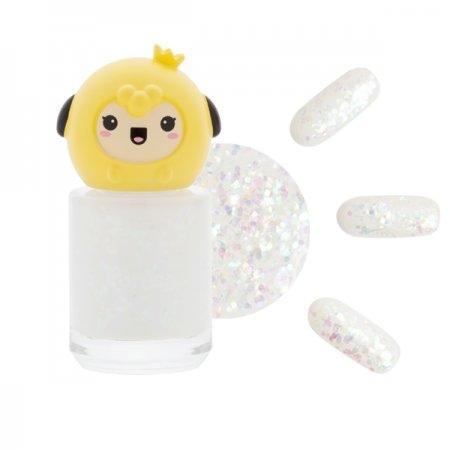 ยาทาเล็บ กลิตเตอร์ G08 สีขาวน้ำนม