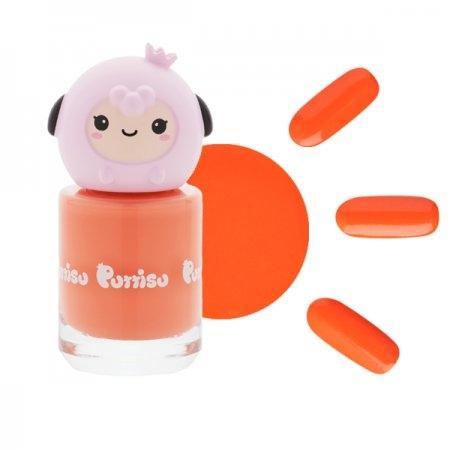 ยาทาเล็บ กลิ่นสตอเบอรี่ C18 สีส้ม