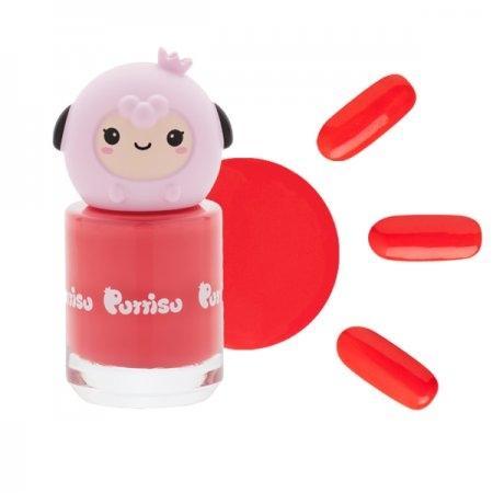 ยาทาเล็บ กลิ่นสตอเบอรี่ C13 สีแดงกุหลาบ