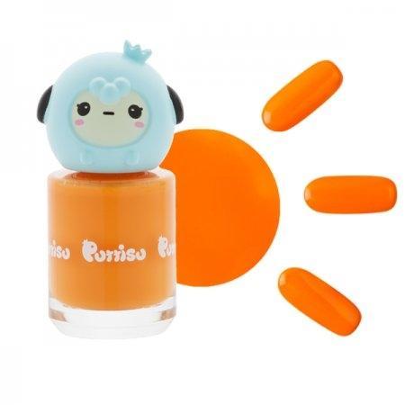 ยาทาเล็บ แบบล้างออกด้วยน้ำ W06 สีส้ม