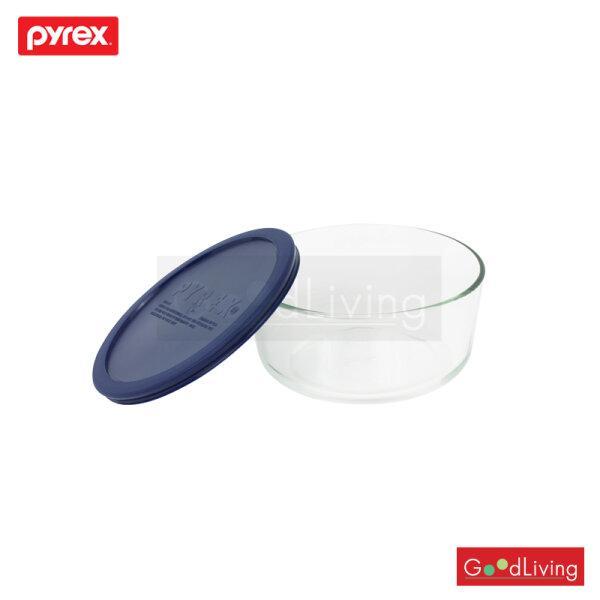 Pyrex ชามแก้วพร้อมฝา ขนาด 1.75L รุ่น P-00-6017397 - สีน้ำเงิน