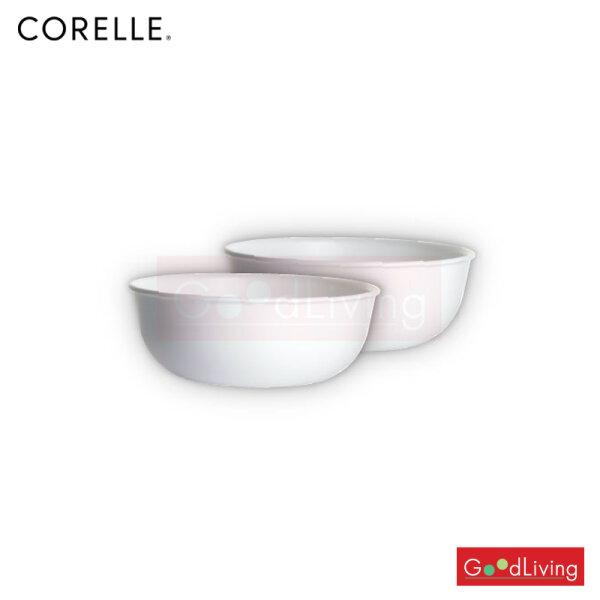 Corelle ชามซุป ขนาด 473 ml. สีขาว 2 ชิ้น /C-03-416-N-LP