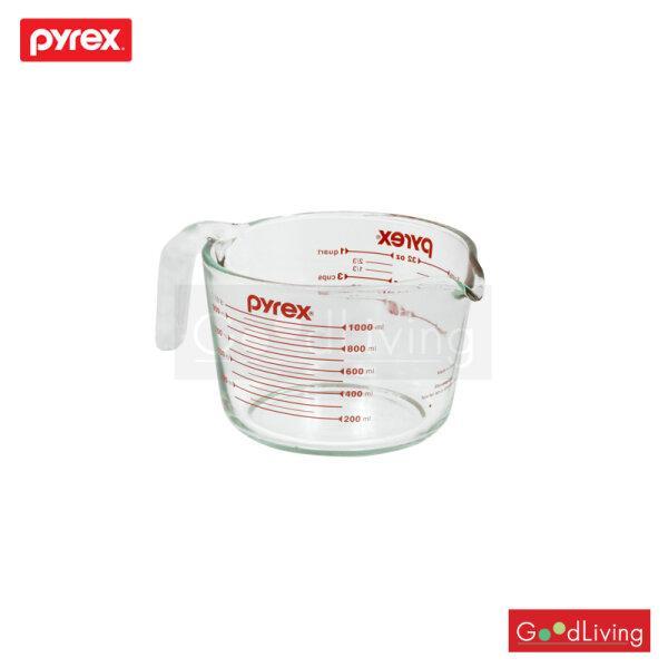 Pyrex ถ้วยตวงแก้ว รุ่นP-00-532-N 1 L. (สีแดง)