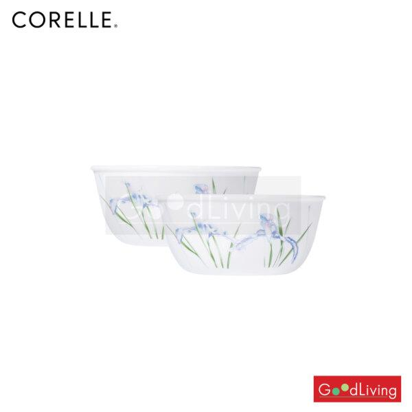 Corelle ชาม ขนาด 900 ml. 6.4 (15.5 cm.) สีฟ้า-เขียว 2 ชิ้น /C-03-428-333
