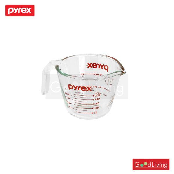 Pyrex ถ้วยตวงแก้ว รุ่น P-00-508-N 250 Ml. (สีแดง)