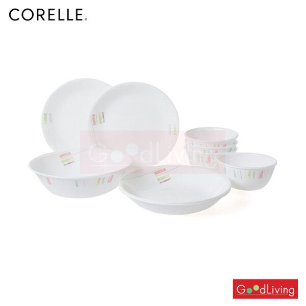 Corelle Set Handicraft-9pc/C-03-9-HN-P แถมถุงผ้า Corelle brands