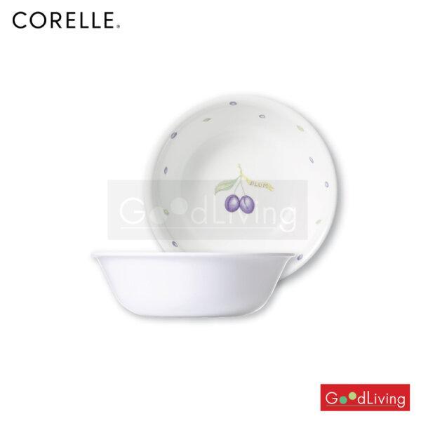 Corelle ชามซุป/ซีเรียลสีม่วง ขนาด 500 ml. 6 นิ้ว (15.5 ซม.) 2 ชิ้น/C-03-418-PU-2