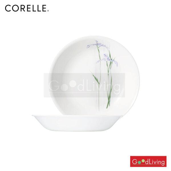 Corelle จานซุป ขนาด 8.5 (21 cm.) สีฟ้า-เขียว 2 ชิ้น /C-03-420-333