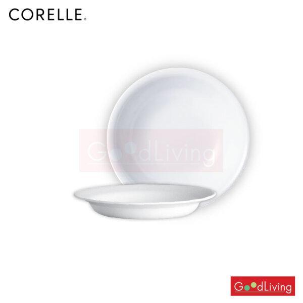 Corelle จานซุป ขนาด 21 cm. สีขาว 2 ชิ้น /C-03-415-N-LP