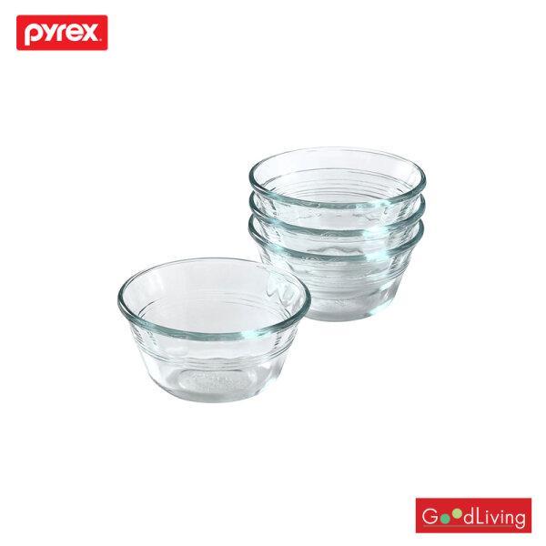 Pyrex ถ้วย 300ml Deep Pie Plates 4/P-00-464 D