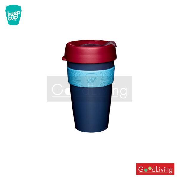 แก้ว KeepCup สีน้ำเงินฝาสีแดง-16oz HICKORY/K-CHIC16
