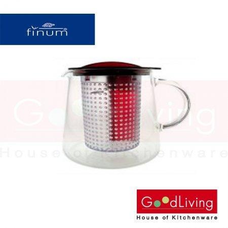 Finum กาน้ำชา สีแดง ขนาด 1 ลิตร รุ่น F-66-4287030