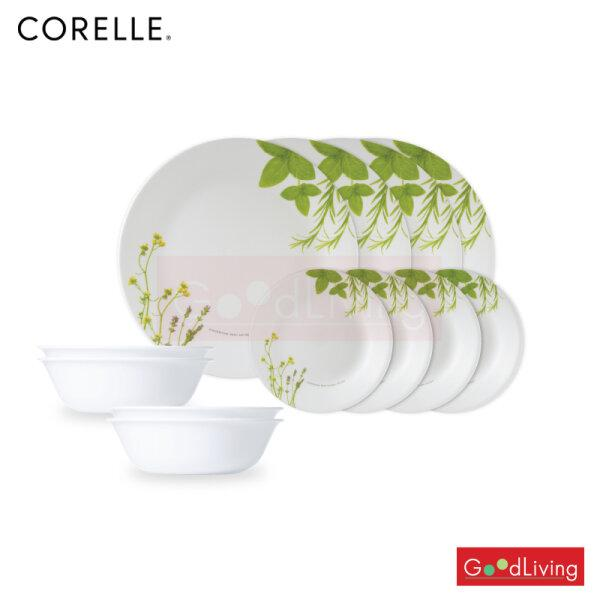 Corelle 12Pc Set European Herbs รุ่น C-03-12-EH-MS แถมถุงผ้า Corelle brands