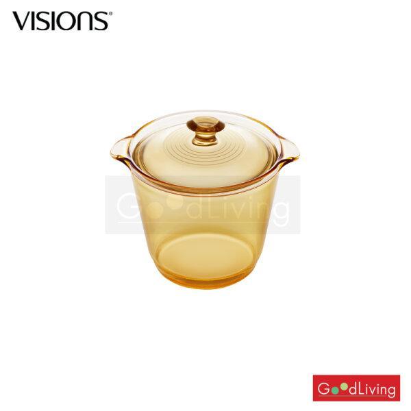 Visions หม้อแก้วทนไฟ รุ่น Flair 1.2L Stewpot /V-01-VSF-12STW