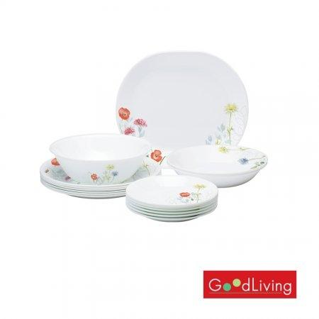 Corelle 16pc Set LW - Daisy Field รุ่น C-03-16-DSF-MS
