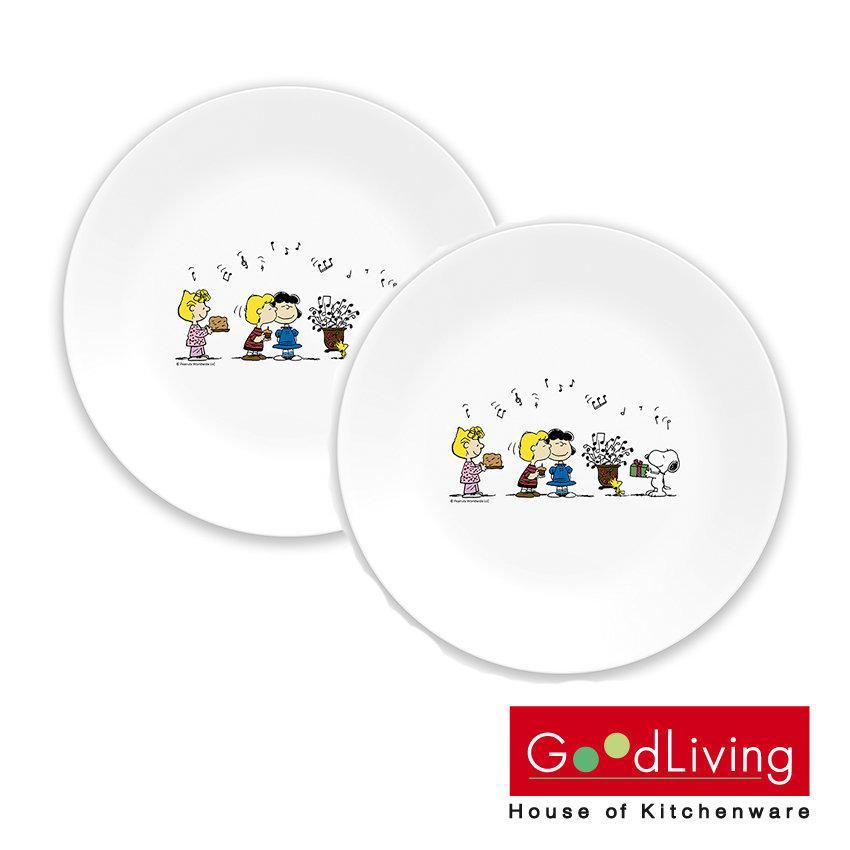 Corelle ชุด จานชาม ลาย Peanuts Snoopy/C-03-110-SPC-2/TH
