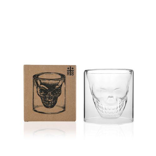 SKULL GLASSES 5.5 oz