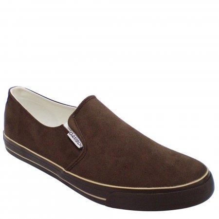 GAMBOL รองเท้าผ้าใบ รุ่น GB82087/GB82087A - สีน้ำตาล (มีไซส์พิเศษ)