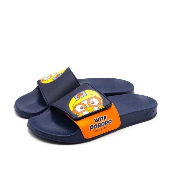 ใหม่! GAMBOL x PORORO รุ่น PW43001 รองเท้าแบบสวมสำหรับผู้หญิง Size 36-39