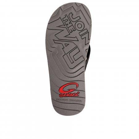 GAMBOL แกมโบล รองเท้าแตะ (นุ่ม) รุ่น GM/GW11330 - สีดำขาว