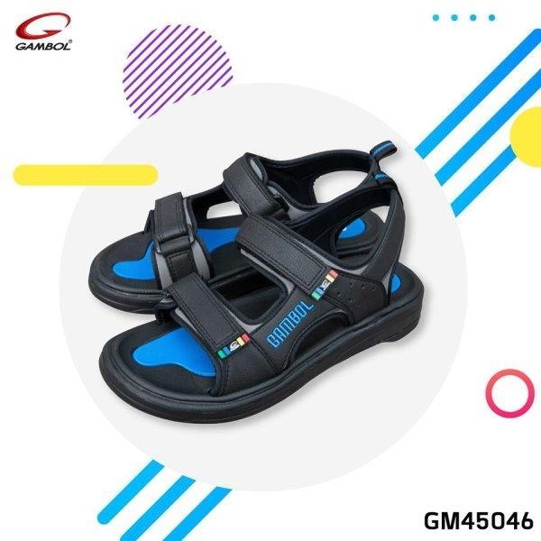 GAMBOL แกมโบล รองเท้าแตะรัดส้นชาย GM45046 Size 40-44