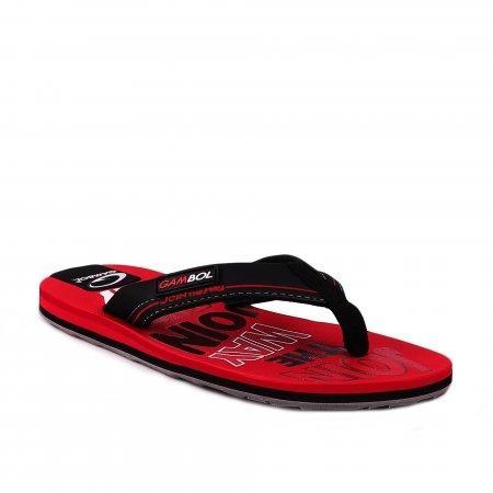 GAMBOL แกมโบล รองเท้าแตะ (นุ่ม) รุ่น GM/GW11305 - สีแดง