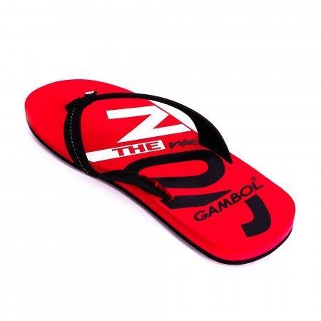 GAMBOL แกมโบล รองเท้าแตะ (นุ่ม) รุ่น GM/GW11330 - สีดำแดง