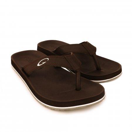 GAMBOL แกมโบล รองเท้าแตะ (นุ่ม) รุ่น GM/GW11267 - สีน้ำตาล