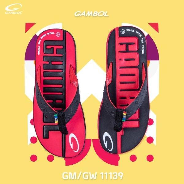 GAMBOL แกมโบล รองเท้าแตะชายหญิง (นุ่ม) รุ่น GM/GW11139 Size 36-44