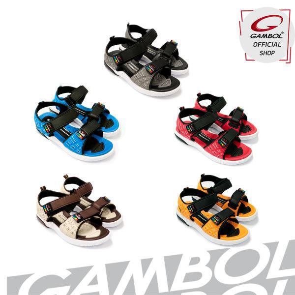 GAMBOL แกมโบล รองเท้าแตะรัดส้นหญิง รุ่น GW45036 Size 36-39