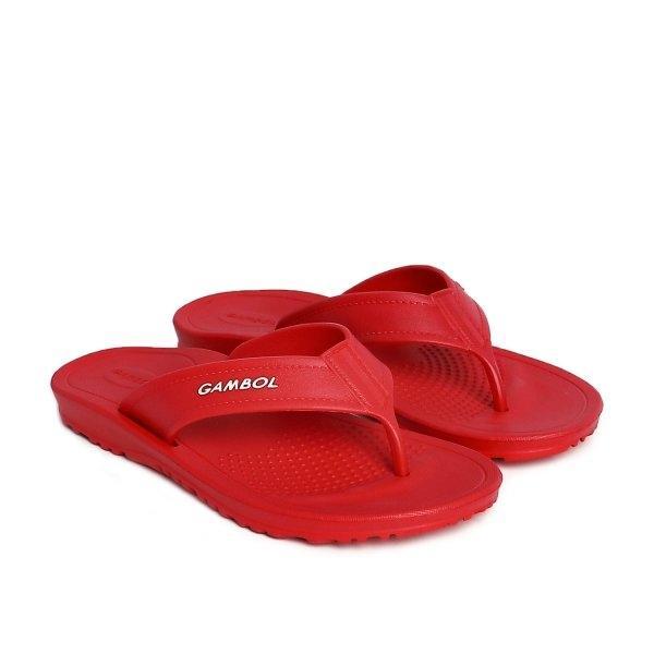 GAMBOL แกมโบล รองเท้าแตะแบบหนีบ ( phylon  ) รุ่น GM/GW 41123 - สีแดง