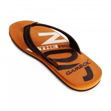 GAMBOL แกมโบล รองเท้าแตะ (นุ่ม) รุ่น GM/GW11330 - สีน้ำตาล
