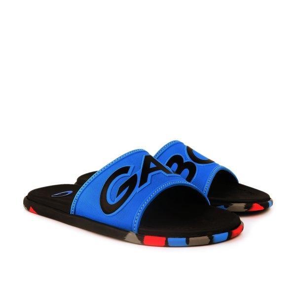 GAMBOL แกมโบล รองเท้าแตะลำลอง (นุ่ม) รุ่น GM12106 - สีน้ำเงิน