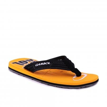 GAMBOL แกมโบล รองเท้าแตะ (นุ่ม) รุ่น GM/GW11315 - สีเหลือง