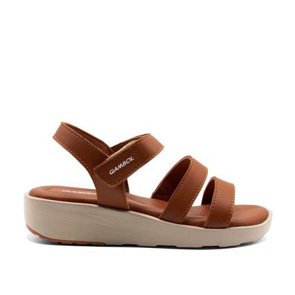 GAMBOL แกมโบล รองเท้าแตะรัดส้นหญิง GW45054 Size 36-39