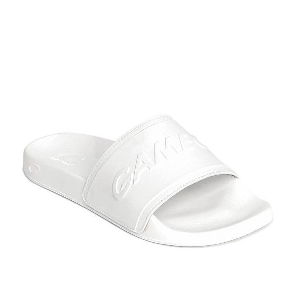 GAMBOL แกมโบล รองเท้าแตะลำลอง ( phylon  ) รุ่น GM/GW 42155 - สีขาว