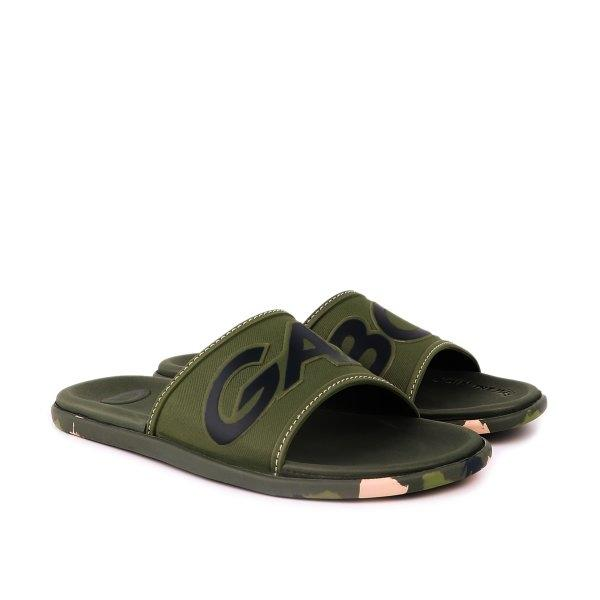 GAMBOL แกมโบล รองเท้าแตะลำลอง (นุ่ม) รุ่น GM12106 - สีเขียว