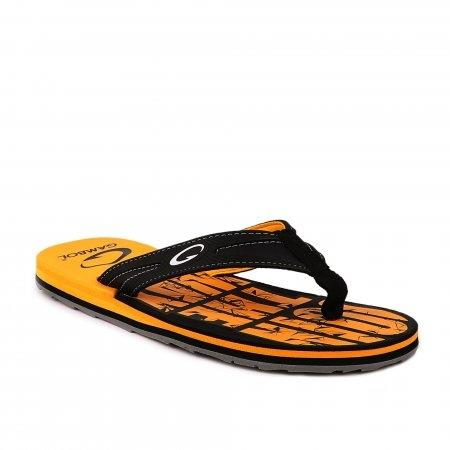 GAMBOL แกมโบล รองเท้าแตะ (นุ่ม) รุ่น GM/GW11312 - สีเหลือง