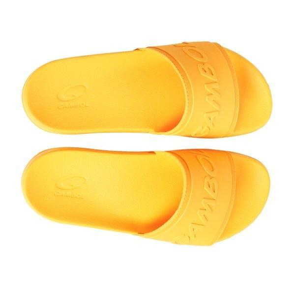 GAMBOL แกมโบล รองเท้าแตะลำลอง ( phylon  ) รุ่น GM/GW 42155 - สีเหลือง