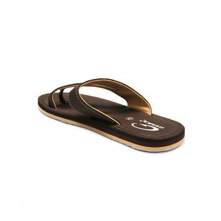 GAMBOL แกมโบล รองเท้าแตะ (นุ่ม) รุ่น GM/GW11276 - สีน้ำตาลเข้ม