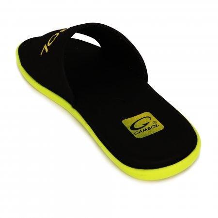 GAMBOL แกมโบล รองเท้าแตะ (นุ่ม) รุ่น GM/GW12105 - สีเหลือง