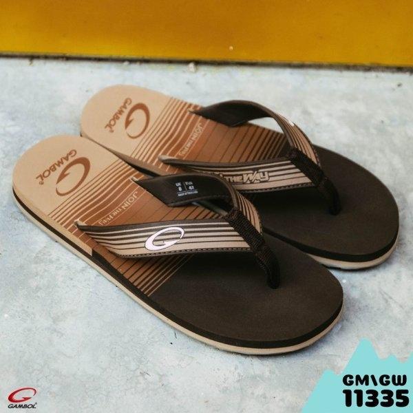 GAMBOL แกมโบล รองเท้าแตะชายหญิง (นุ่ม) รุ่น GM/GW11335 Size 36-44