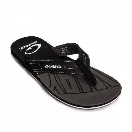 GAMBOL แกมโบล รองเท้าแตะ (นุ่ม) รุ่น GM/GW11331 - สีดำ