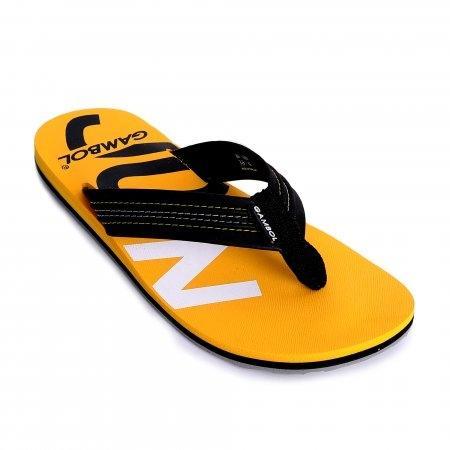 GAMBOL แกมโบล รองเท้าแตะ (นุ่ม) รุ่น GM/GW11330 - สีดำเหลือง