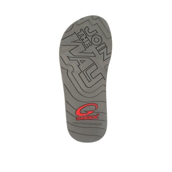GAMBOL แกมโบล รองเท้าแตะลำลอง (นุ่ม) รุ่น GM12093 - สีกรม