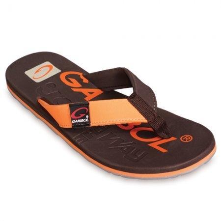 GAMBOL แกมโบล รองเท้าแตะ (นุ่ม) รุ่น GM/GW11283 - สีน้ำตาล